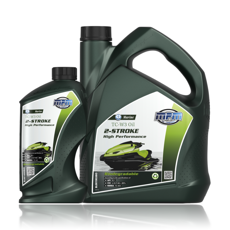 MPM Marine TC-W3 Oil 2-Stroke High Performance Biodegradable